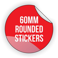 Round Vinyl Sticker 60mm x 60mm